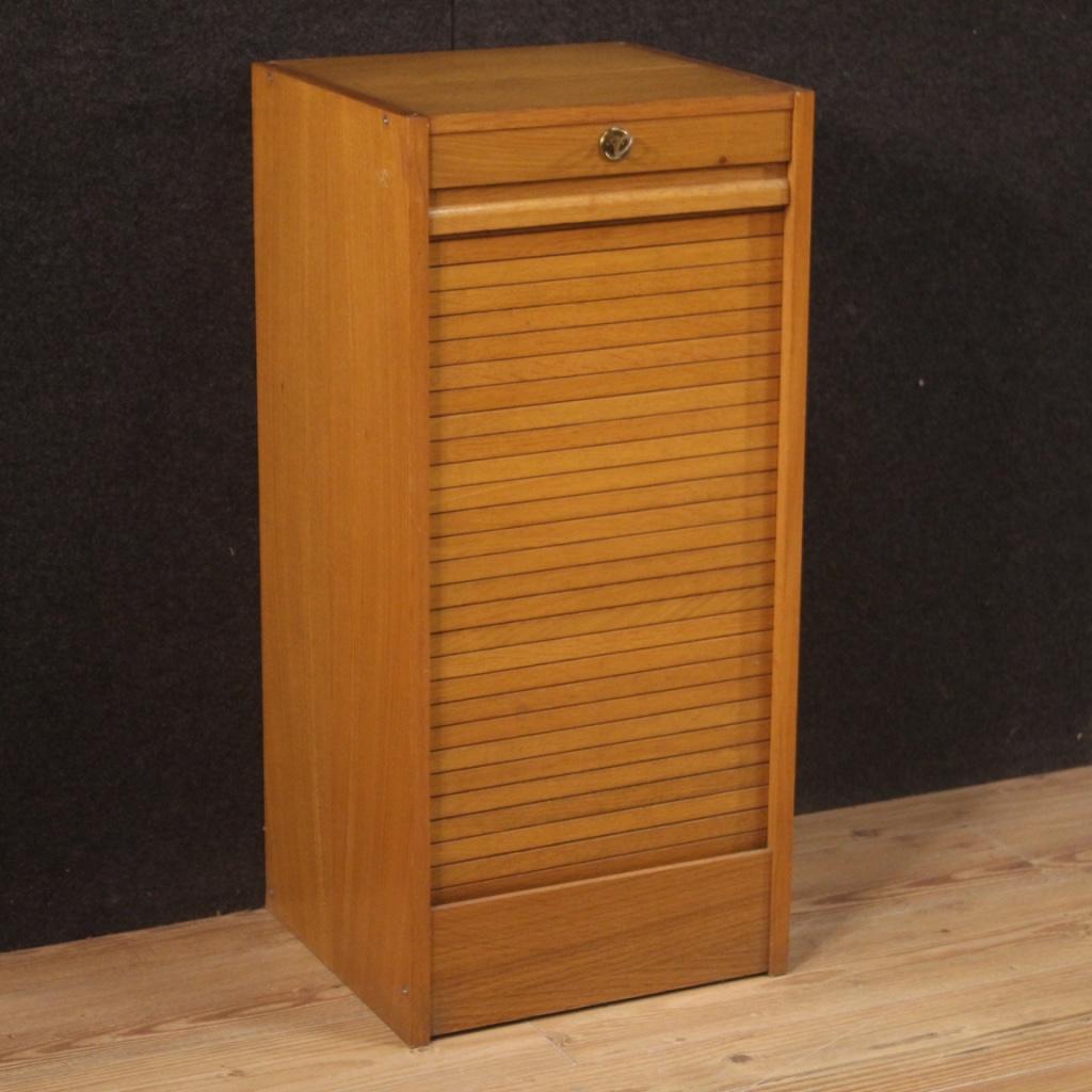 Roller Shutter Filing Cabinet Furniture Style Design Vintage