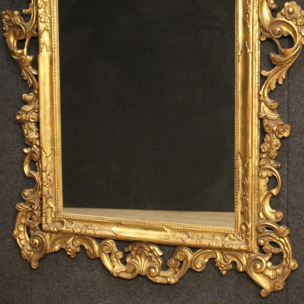 miniatura 4 - Specchiera-veneziana-mobile-specchio-in-legno-dorato-stile-antico-cornice-900