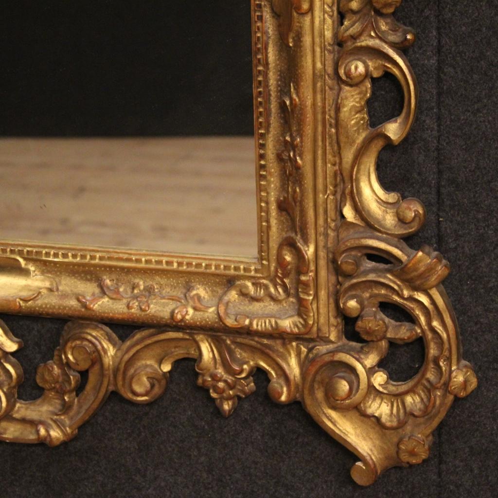 miniatura 6 - Specchiera-veneziana-mobile-specchio-in-legno-dorato-stile-antico-cornice-900