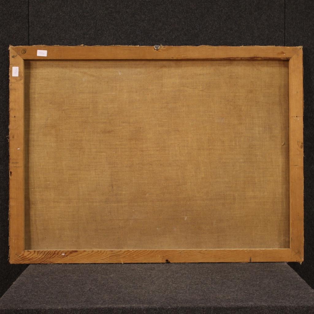 Angoliera-laccata-mobile-libreria-credenza-doppio-corpo-ad-angolo-legno-dipinto miniature 2