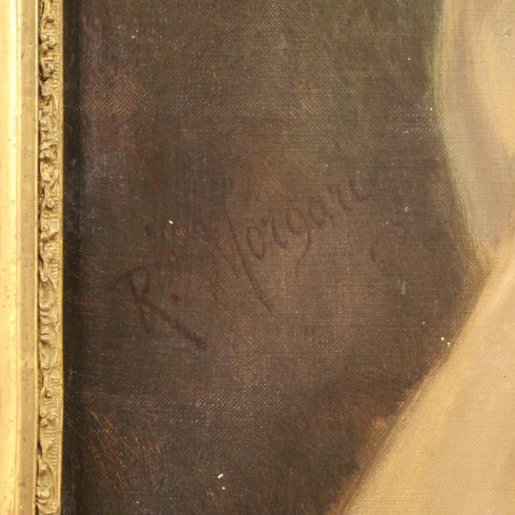 Angoliera-laccata-mobile-libreria-credenza-doppio-corpo-ad-angolo-legno-dipinto miniature 8