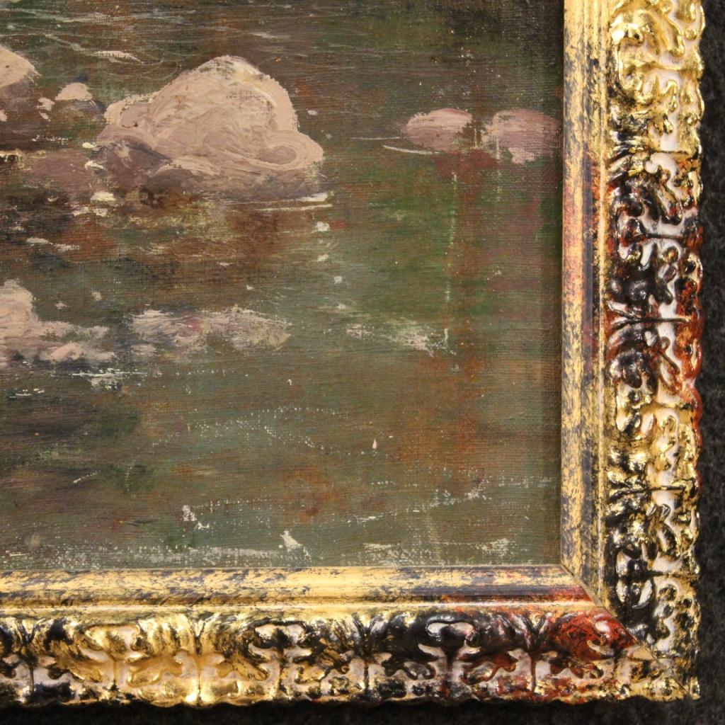 Ancien peinture tableau religieux huile sur toile cadre Christ 18ème siècle 700   eBay