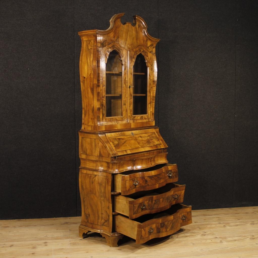Trumeau mobel schreibtisch sekretar kredenz holz antik for Schreibtisch holz massiv mobel